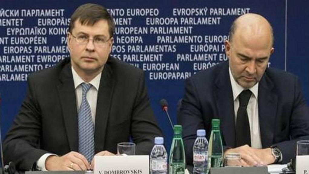 Νέες προειδοποιήσεις προς Ιταλία και άλλους 4 από Ντομπρόβσκις και Μοσκοβισί